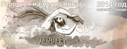 Гороскоп на январь 2014