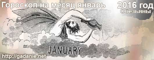 Гороскоп на январь 2016